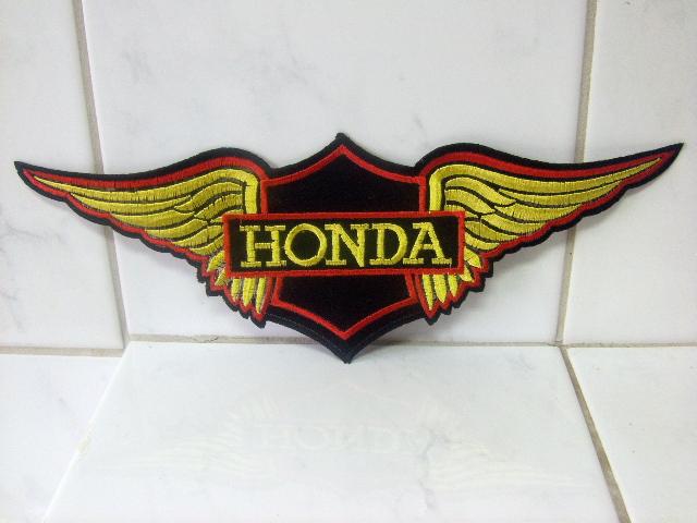 Patch Rückenaufnäher HONDA Gewebeaufnäher 28 x 10 cm