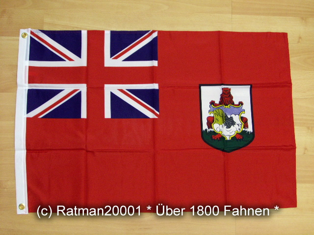 Bermuda Wappen  - 60 x 90 cm