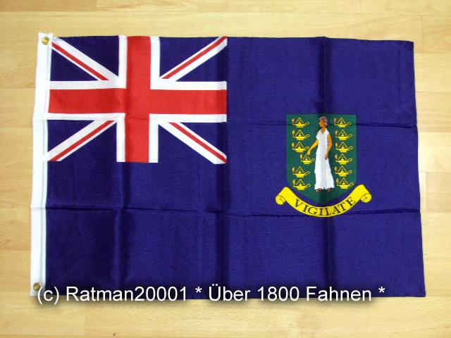 British Virgin Islands Britischen Jungferninseln - 60 x 90 cm