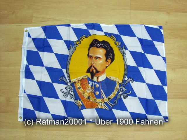 Bayern König Ludwig - 60 x 90 cm