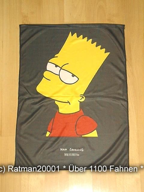 Bart Simpson Rot - 48 x 66