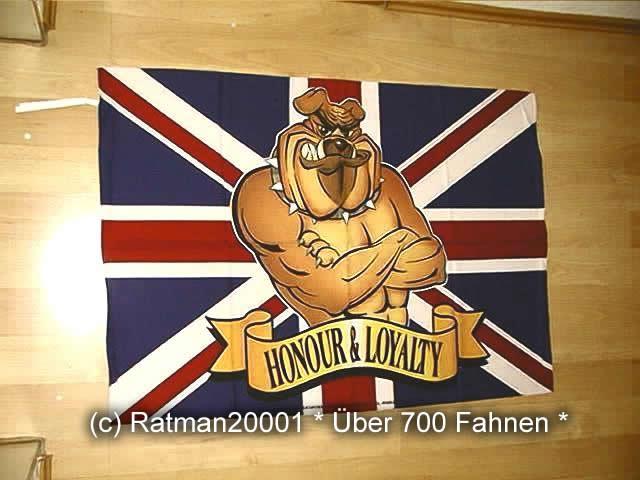 British Bulldog - 74 x 109 cm