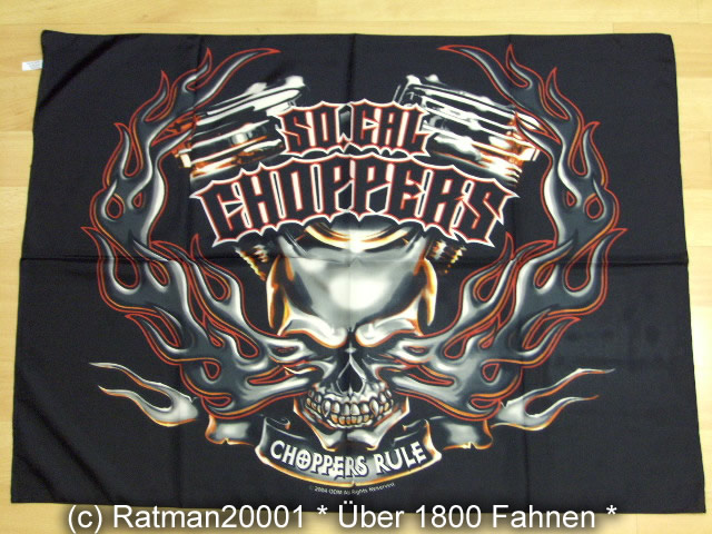 CHOPPERS-RULE POS 603 - 75 x 107cm
