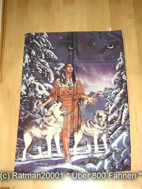 Indianer - POS 334 - 75 x 107 cm