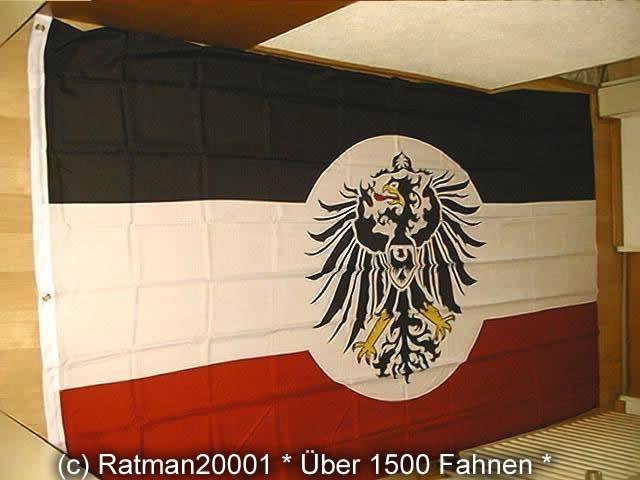 Deutsches Reich Dienstflagge Kolonialamt - 1 - 150 x 250 cm