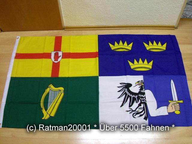 Irland 4 Länder - 90 x 150 cm