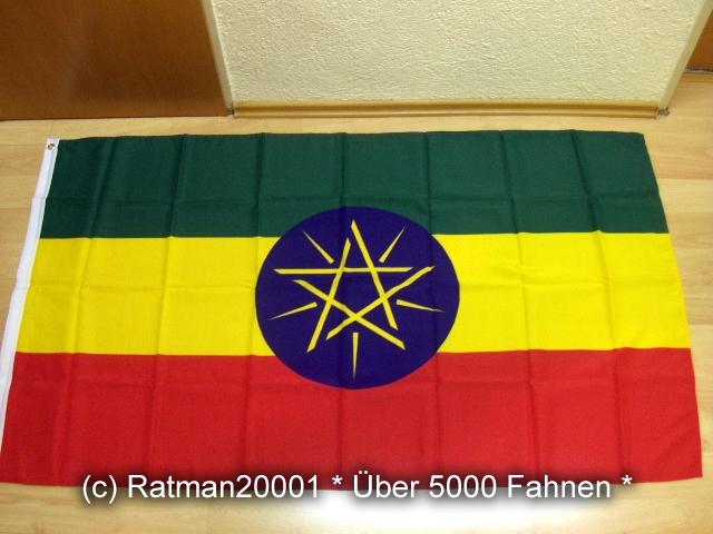 Äthiopien Wappen - 90 x 150 cm