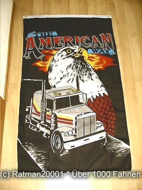 THE AMERICAN USA American Way - 150 x 90 cm