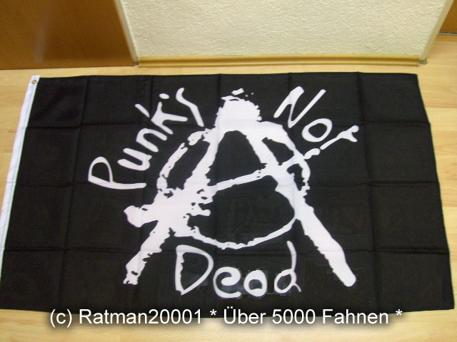 Punks Not Deod - 150 x 90 cm