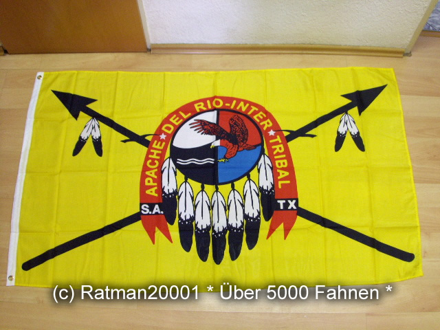 Fahne Apachen 90 x 150 cm Flagge Indianer