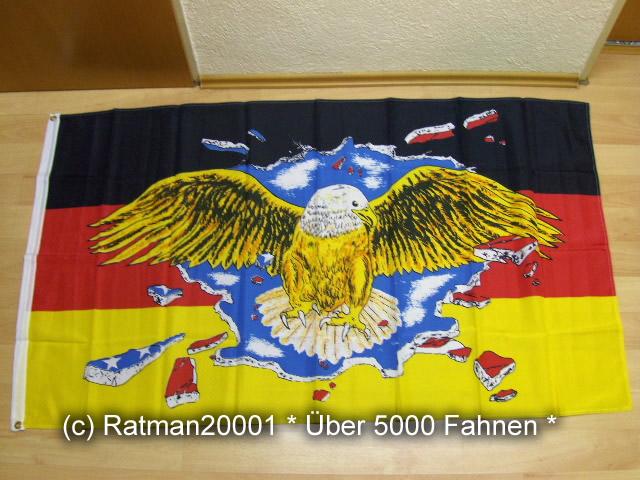 Deutschland Breiter Adler - 90 x 150 cm