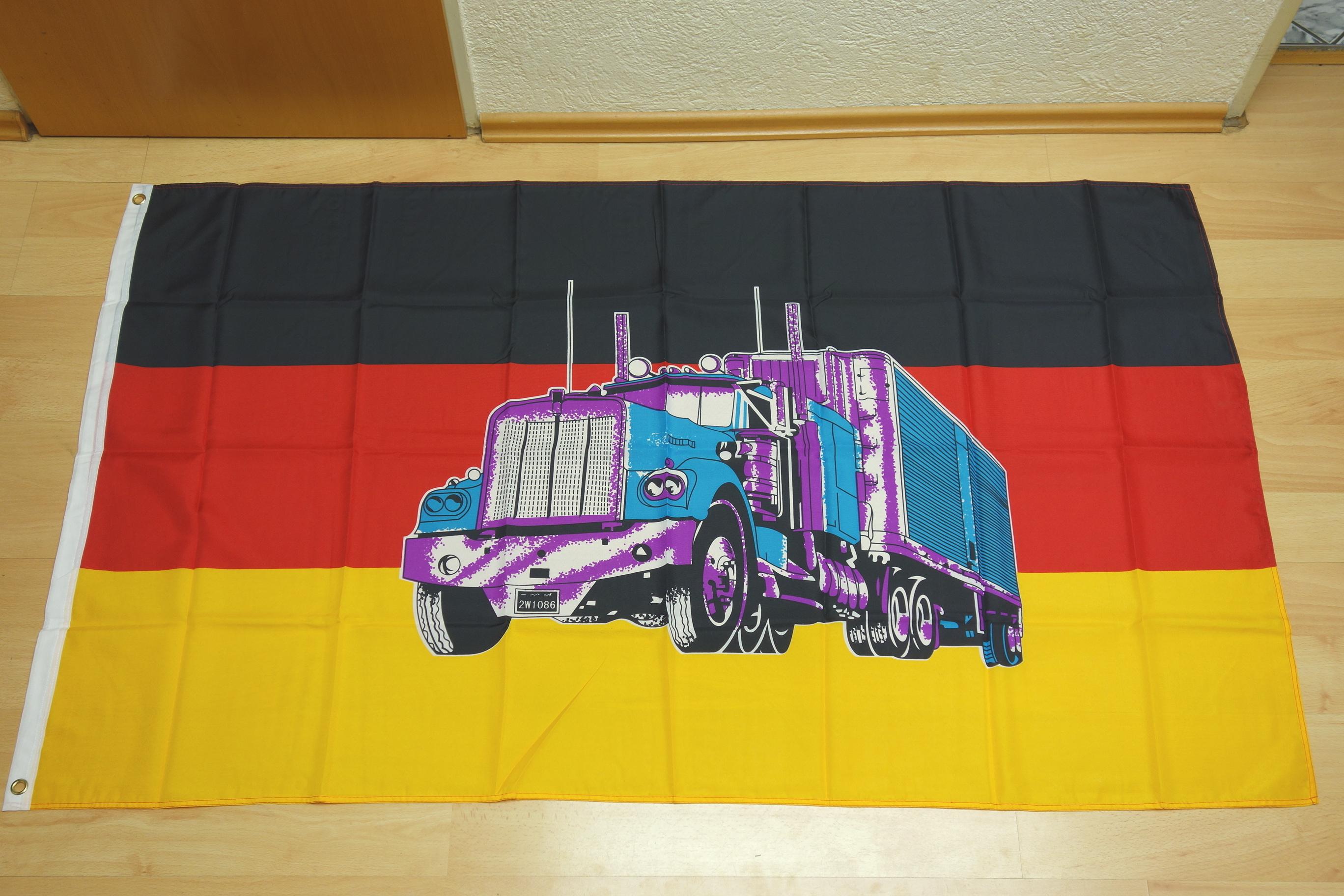 Deutschland Truck - 90 x 150 cm