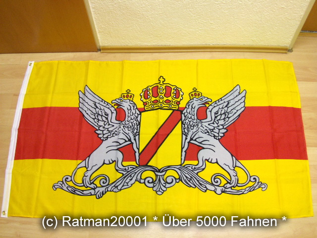 Baden Großherzogtum - 90 x 150 cm