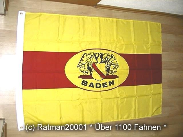 Baden Wappen - 95 x 135 cm