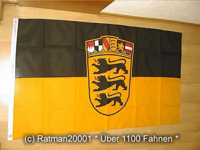 Baden Württemberg Landessiegel Wappen - 90 x 150 cm