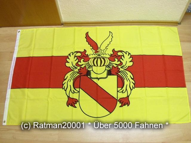 Baden Markgraf Rudolf - 90 x 150 cm