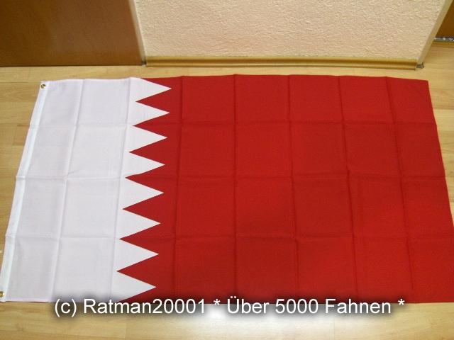Bahrain Nationalflagge 1932 bis 2002 - 90 x 150 cm