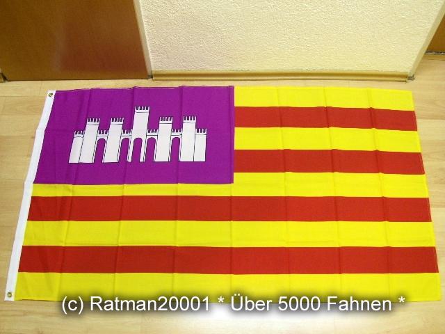 Spanien Balearen - 90 x 150 cm