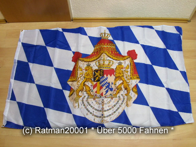Bayern Königreich - 90 x 150 cm