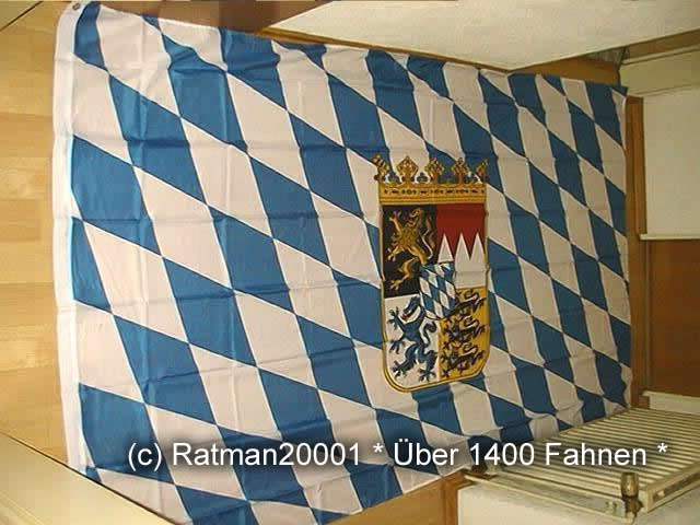 Bayern Wappen - 1 - 150 x 250 cm