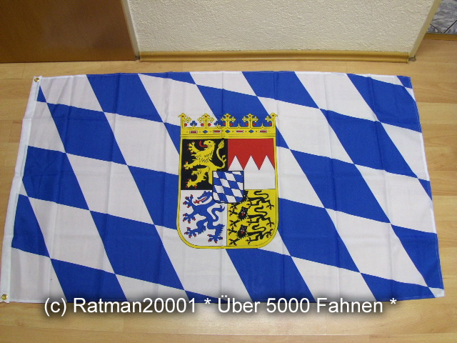 Bayern Wappen - 90 x 150 cm