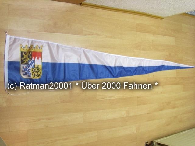 Bayern Wappen Wimpel Langwimpel - 38 x 240 cm