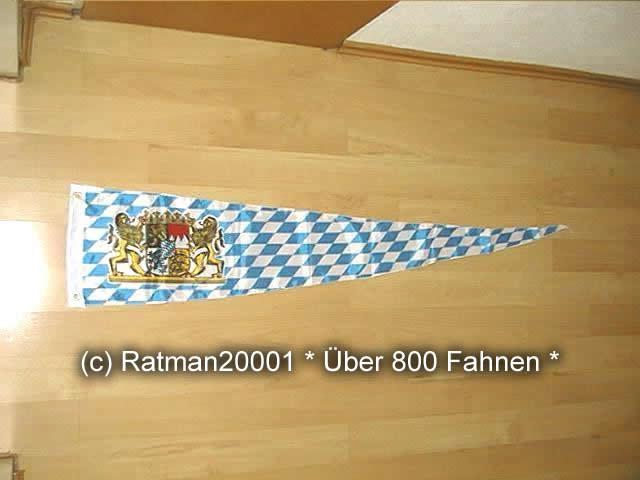 Bayern Lion Wimpel - 30 x 150 cm