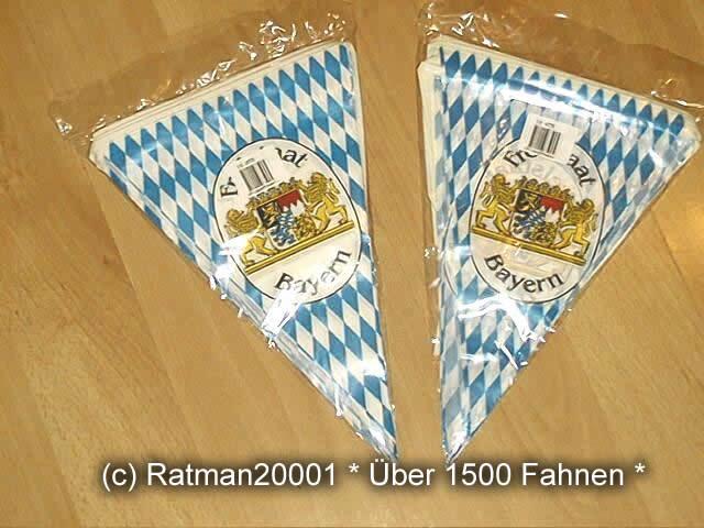 Bayern Wimpelkette Bavaria Lion -10 Meter