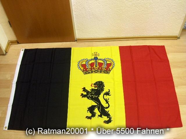 Belgien Dienstflagge zur See - 90 x 150 cm