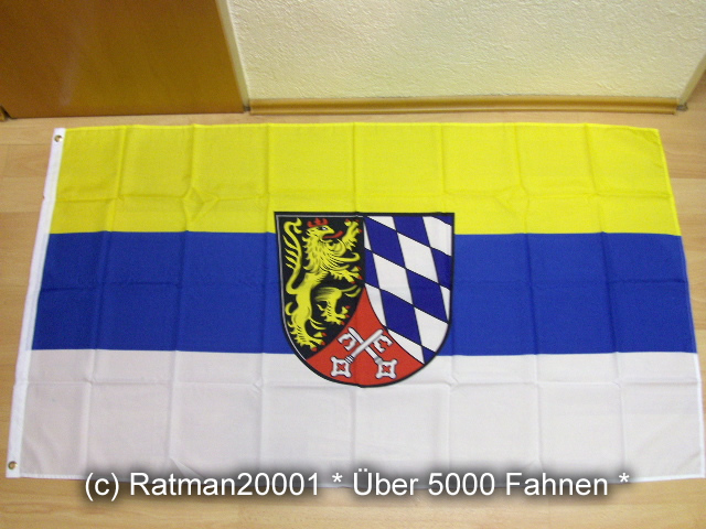 Bezirk Oberpfalz - 90 x 150 cm