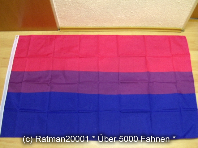 Regenbogen Bi Stolz - 90 x 150 cm