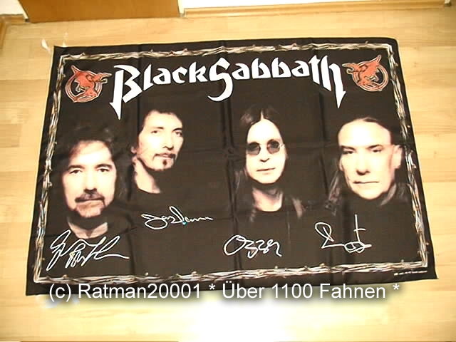 Black Sabbath VD 75 - 95 x 135