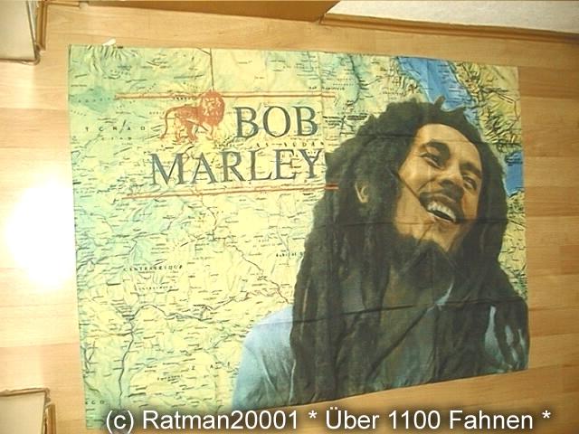 Bob Marley Karte - 95 x 135 cm