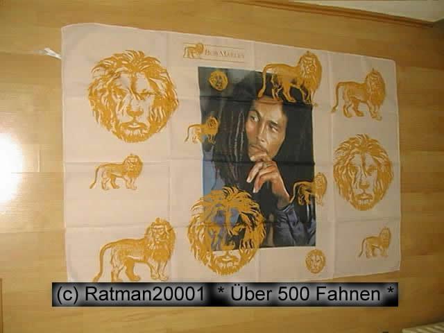 Bob Marley Loewe - 95 x 135 cm
