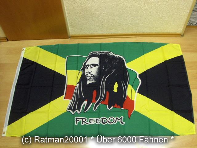 Bob Marley auf Jamaica Jamaika Neu - 90 x 150 cm