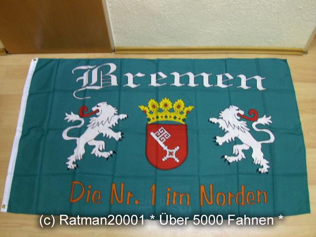 Bremen Die Nr.1 im Norden - 90 x 150 cm