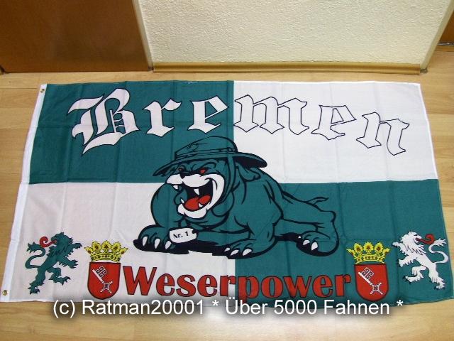 Bremen Weserpower Fan - 90 x 150 cm