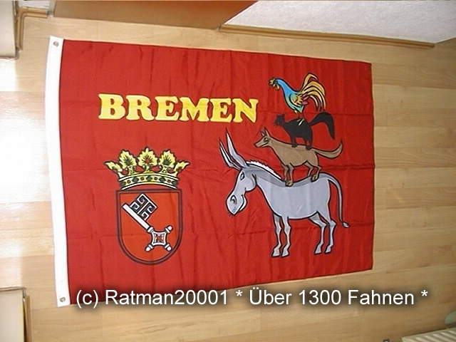 Bremer Stadtmusikanten - 95 x 135 cm