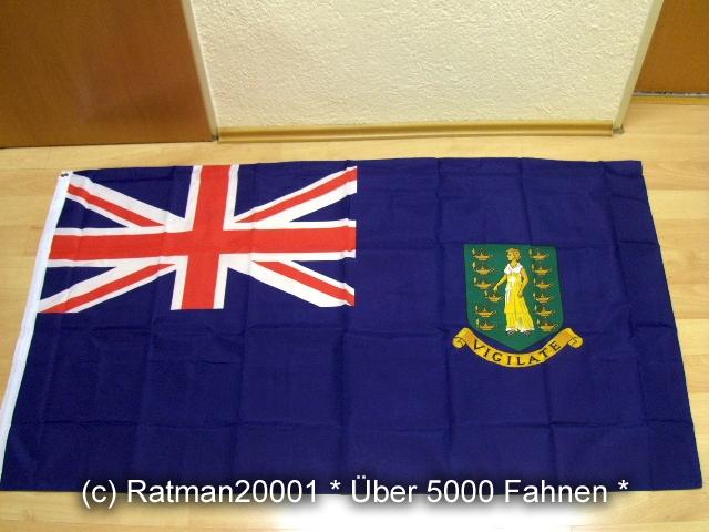British Virgin Islands Britischen Jungferninseln - 90 x 150 cm