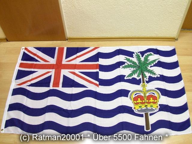 Britisches Territorium im Indischen Ozean - 90 x 150 cm