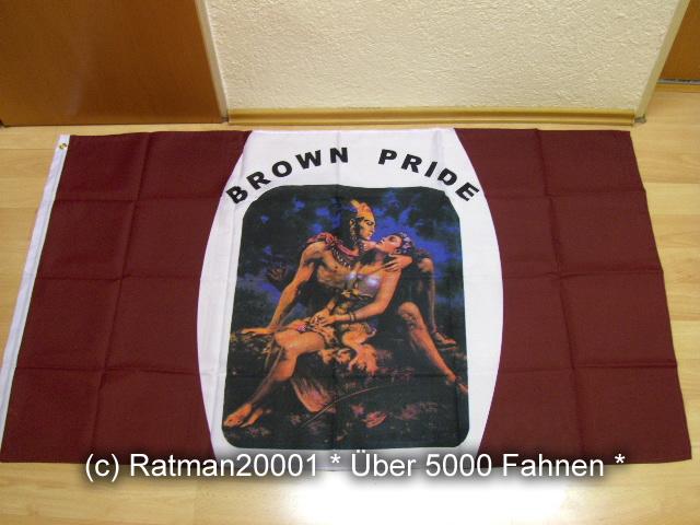 Brown Pride - 90 x 150 cm