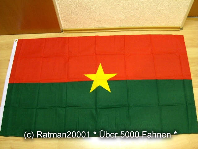 Burkina Faso - 90 x 150 cm