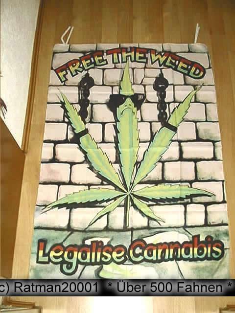Cannabis B183 - 95 x 135 cm