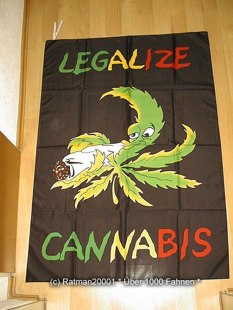 Cannabis Legalize - 95 x 135 cm