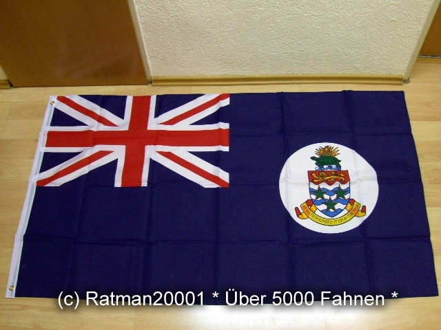 Cayman Inseln - 90 x 150 cm