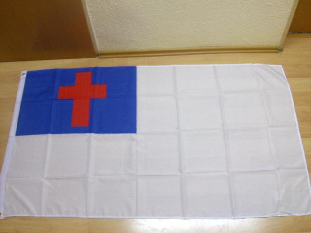 Christenflagge - 90 x 150 cm