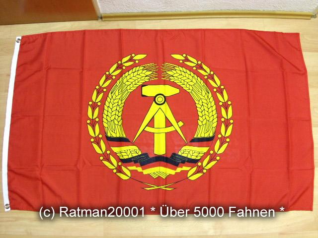 DDR Flagge des Vorsitzenden - 90 x 150 cm