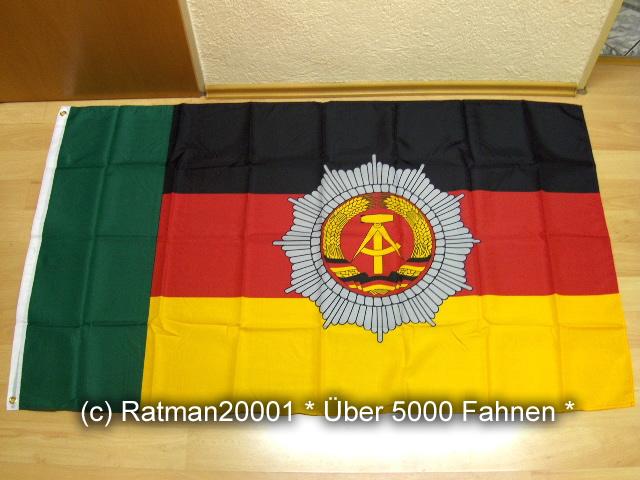 DDR Grenzpolizei - 90 x 150 cm