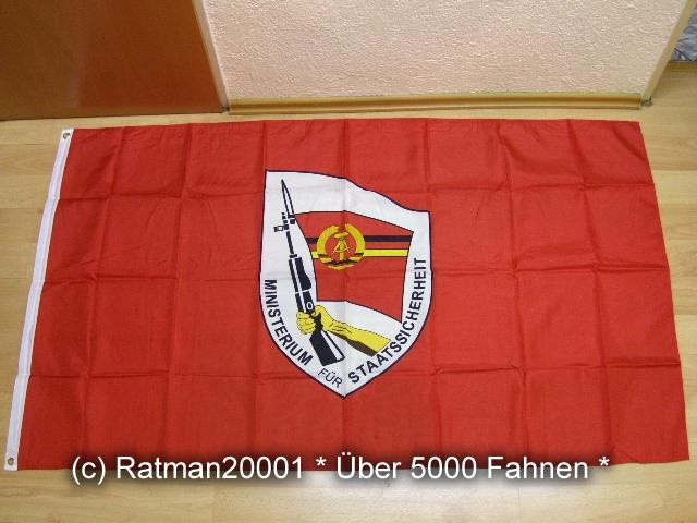 DDR Staatssicherheit - 90 x 150 cm
