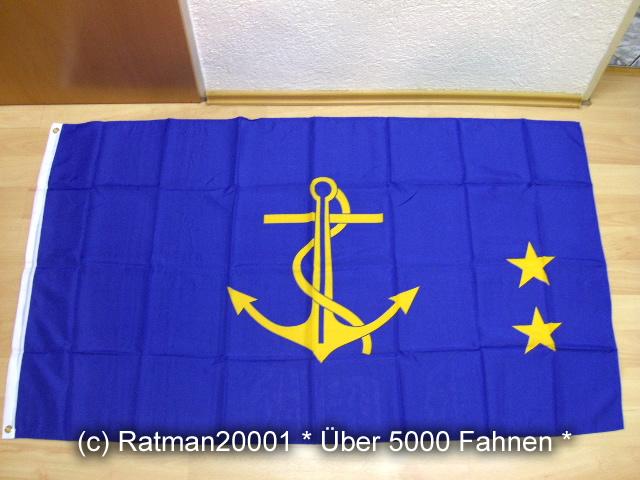 DDR Vizeadmiral  - 90 x 150 cm